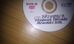 Xp/Vista/7 password recovery