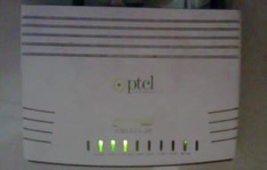 DSL settings: How to get Internet working on PTCL an1020 25?   Geek