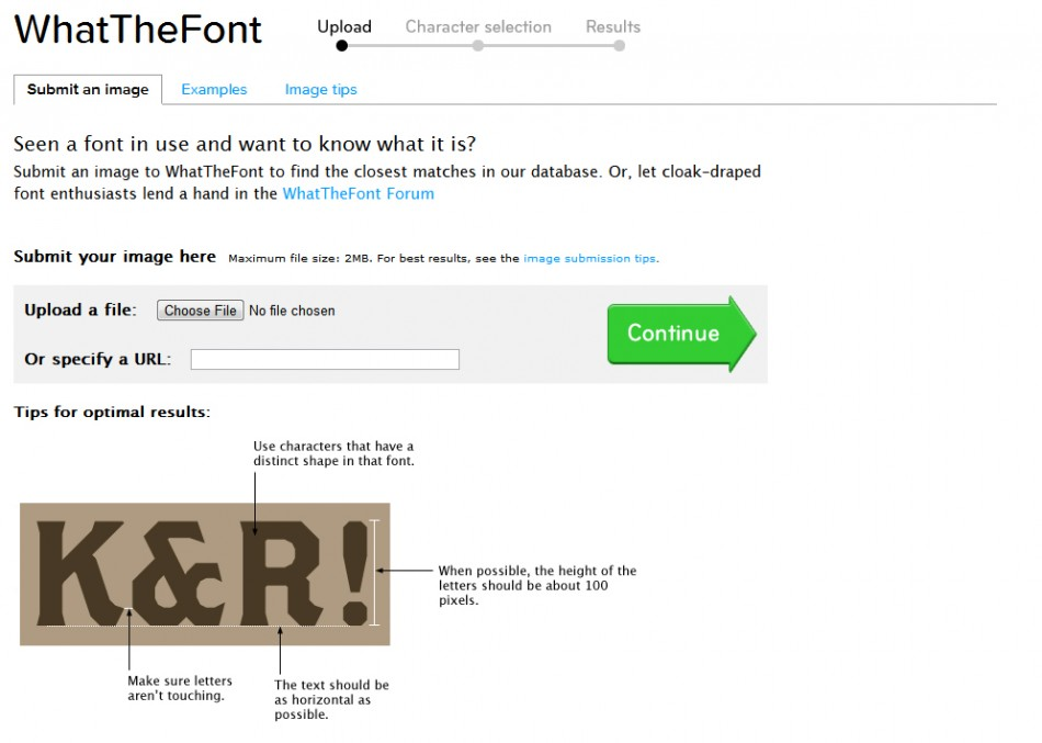 what the font-home