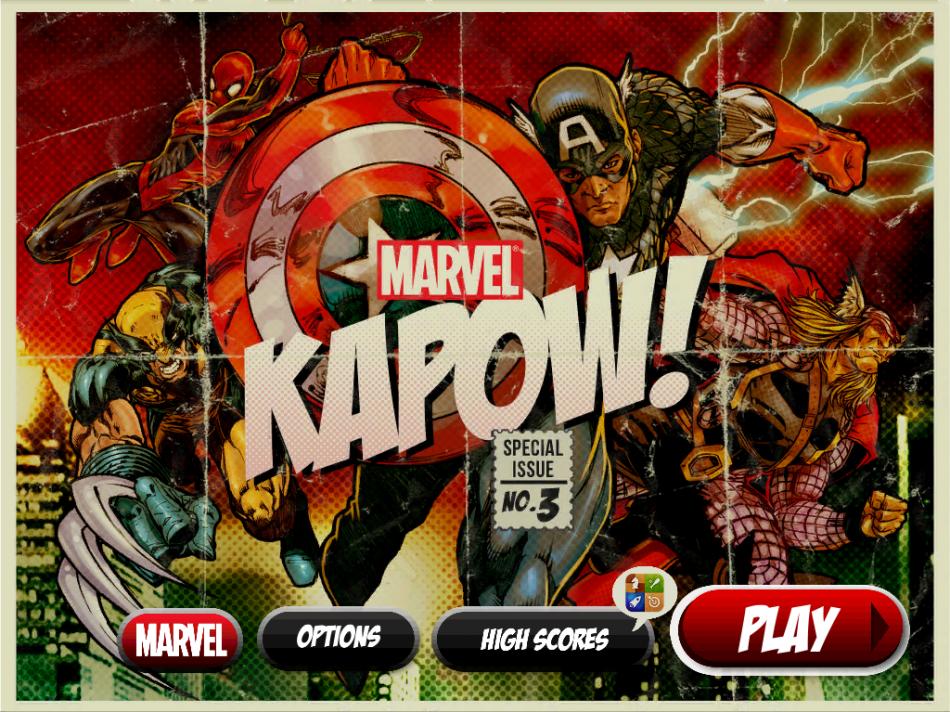 Marvel-kapow