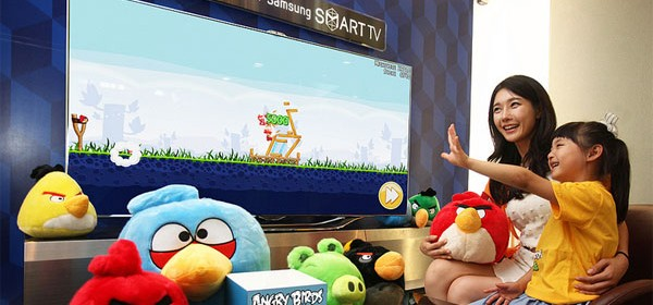 Angry Birds available on Samsung Smart TVs