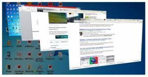windows shortcut- windows + tab