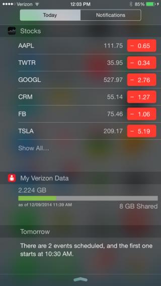 verizon-data-usage-widget